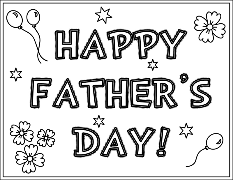 This is a graphic of Smart Printable Fathers Day Card