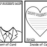 Printable Fathers Day Cards for Kids to Make