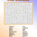 Bible Word Search Moses