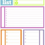 Cute Printable To Do List