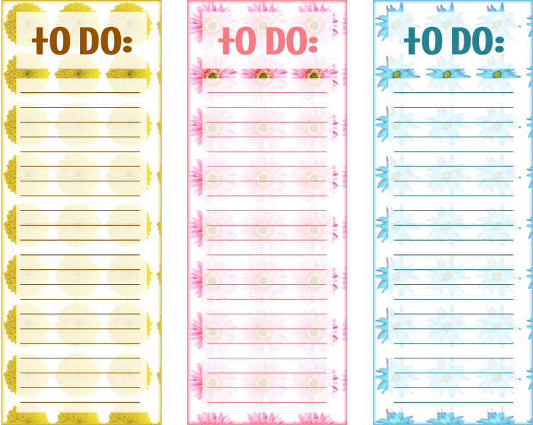 Fabuleux 40 Printable To Do List Templates | Kitty Baby Love MG97