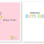 Easter Printable Cards