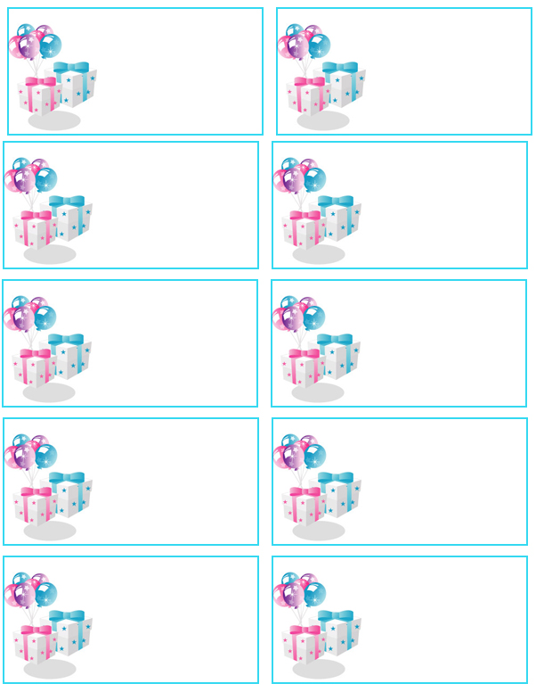 free printable baby shower favor tags template - 12 awesome printable address labels kitty baby love