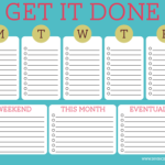 Free Printable To Do List Cute
