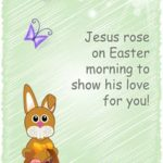 Printable Children's Easter Cards