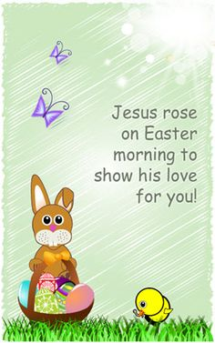 Attractive Printable Childrenu0027s Easter Cards For Free Printable Religious Easter Cards