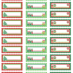 Printable Holiday Address Labels