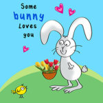 Printable Love You Easter Cards