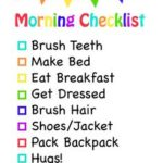Printable To Do List For Kids