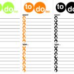 Work To Do List Printable