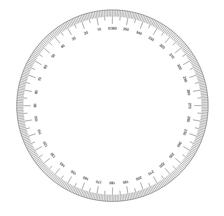 16 useful printable protractors kitty baby love full circle protractor printable pronofoot35fo Gallery