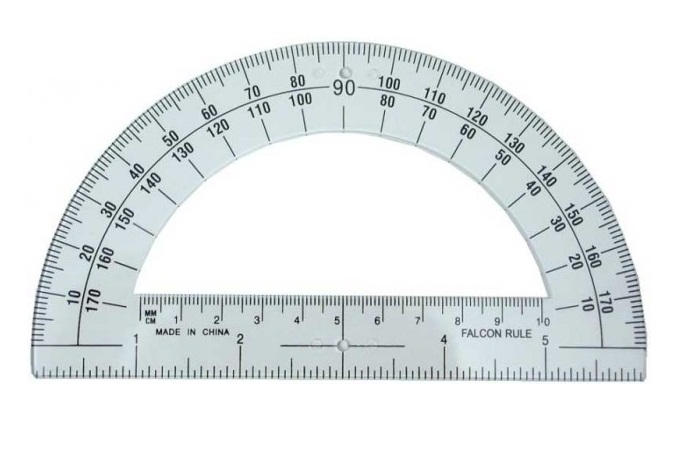 Unusual Printable Protractor Template Pictures Inspiration