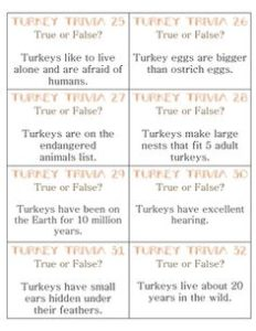Thanksgiving Trivia Questions and Answers for Kids