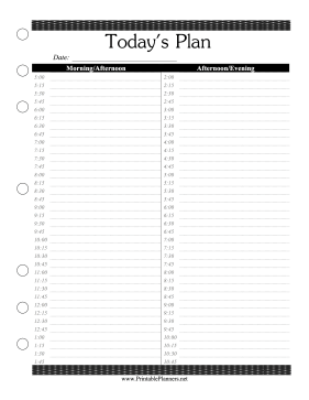 46 of the Best Printable Daily Planner Templates ...