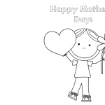 Free Funny Printable Cards for Mothers Day to Color