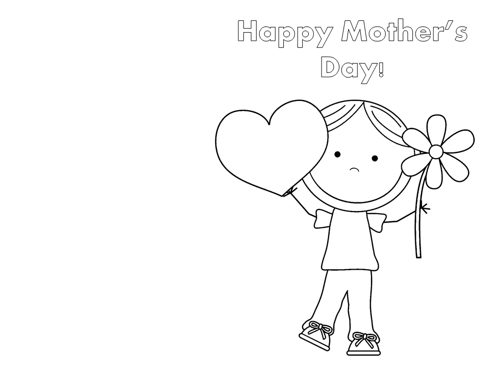 24 printable mothers day cards kitty baby love free funny printable cards for mothers day to color maxwellsz