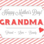 Free Printable Mothers Day Cards for Grandma