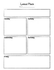 Free Teacher Daily Planner Template