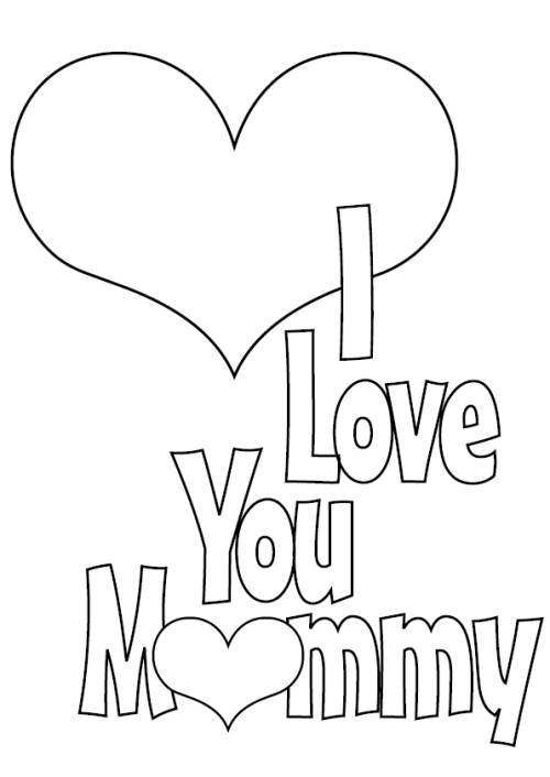 Printable MotherS Day Cards  Kitty Baby Love
