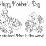Printable Mothers Day Cards for Kids to Color