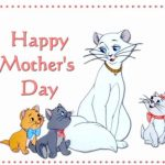 Printable Mothers Day Cards with Cats