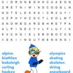 Printable Winter Word Search Puzzles
