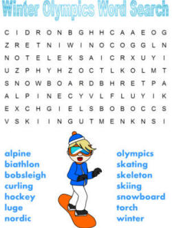14 Free Printable Winter Word Searches