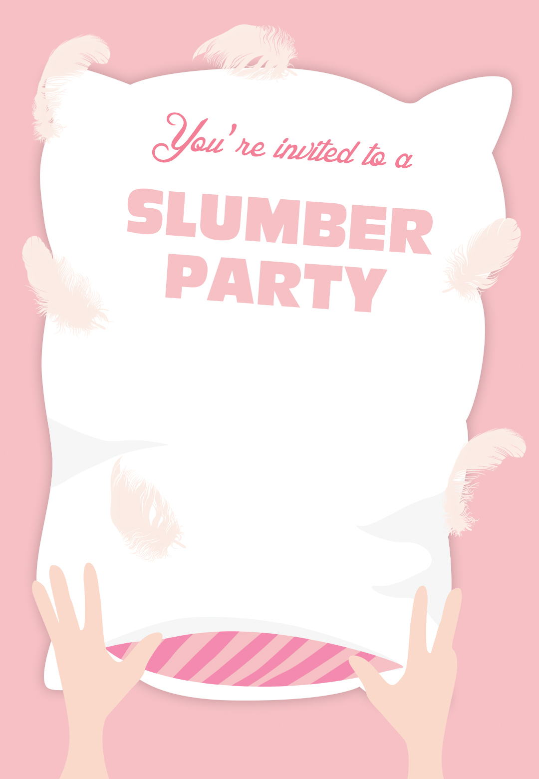 50 beautiful slumber party invitations kitty baby love cute slumber party invitations monicamarmolfo Image collections