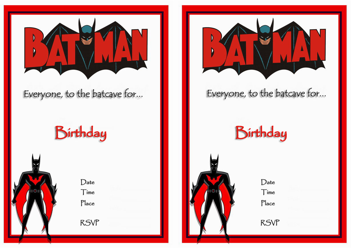 9 awesome batman birthday invitations kitty baby love free printable batman birthday invitations filmwisefo