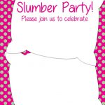 How to Make Slumber Party Invitations