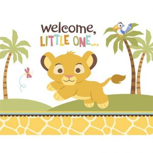 Lion King Baby Shower Invitation Templates