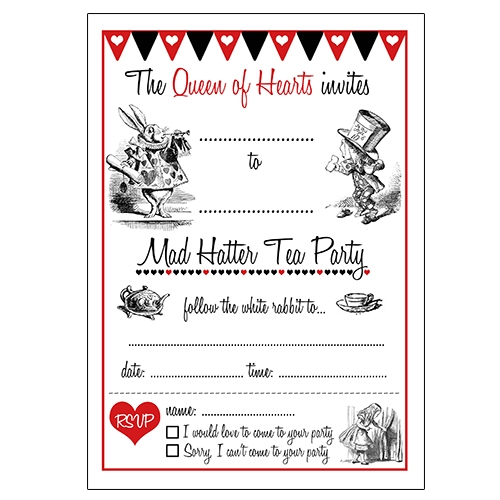 12 cool mad hatter tea party invitations kitty baby love mad hatter tea party invitations free maxwellsz
