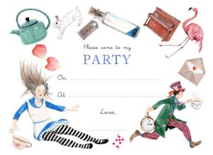 Mad Hatters Tea Party Invitation Ideas