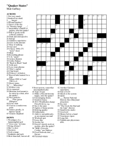 Summer Crossword Puzzle Printable Middle School