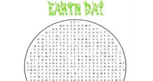 Earth Day Word Search Middle School