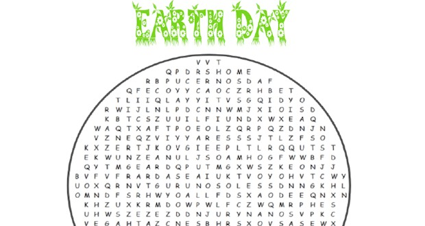 20 Earth Day Word Searches Kitty Baby Love