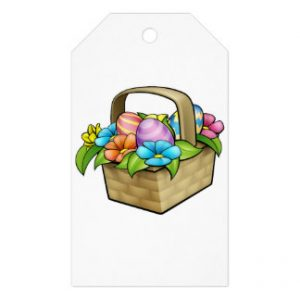 Easter Basket Gift Tags