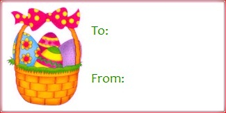 graphic regarding Free Printable Easter Gift Tags called 15 Printable Easter Reward Tags