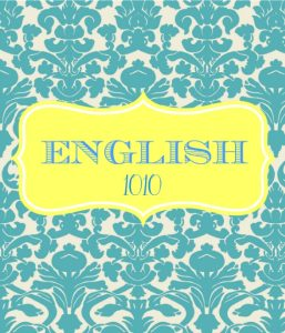English Binder Cover Templates