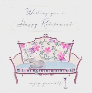Free Colorful Retirement Card