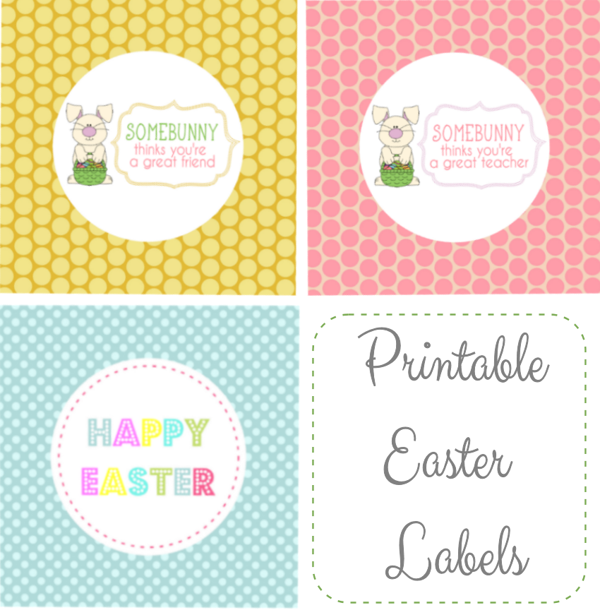 15 printable easter gift tags kitty baby love free easter basket gift tags negle Images