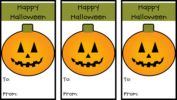 10 of the best halloween gift tags for you kitty baby love for Goodie bag tag template