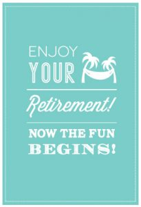 Free Printable Retirement Greeting Cards