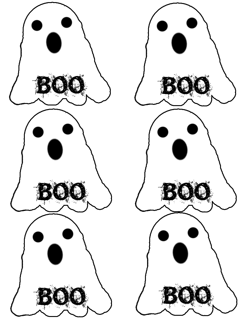 This is a picture of Enterprising Halloween Printable Templates