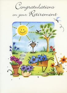 Large Retirement Cards