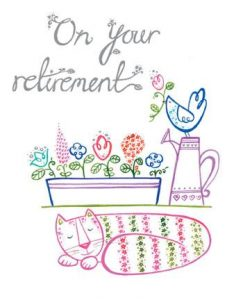 Printable Retirement Cards for Teacher