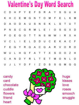 12 valentines day word search kitty baby love valentines day word search ibookread Read Online