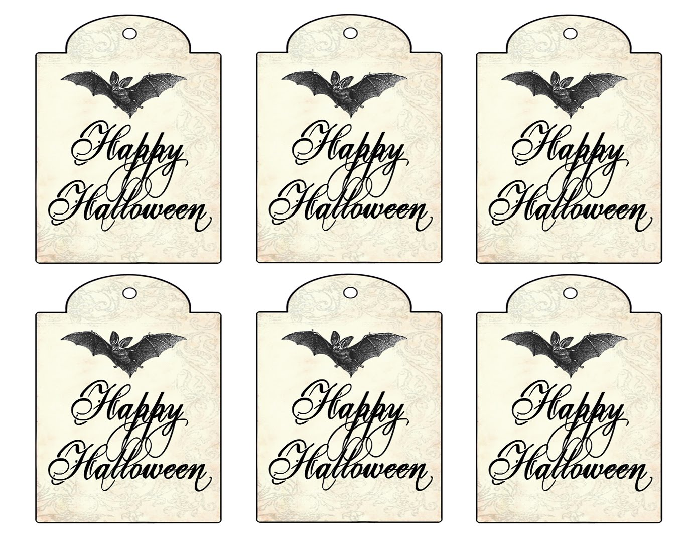 photograph regarding Printable Halloween Gift Tags identify 10 of the Great Halloween Present Tags for Oneself