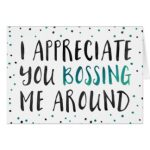 Bosses Day Cards Printable