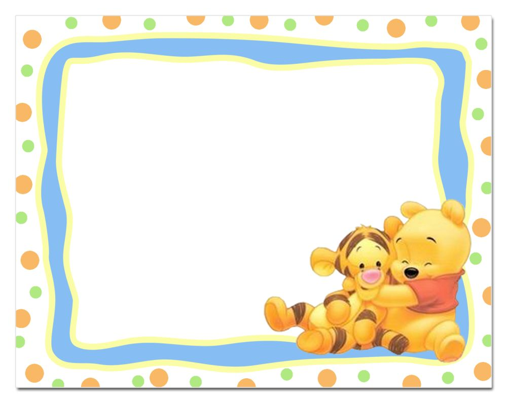 graphic regarding Printable Winnie the Pooh Baby Shower Invitations known as 14 Centre-Warming Winnie the Pooh Little one Shower Invites